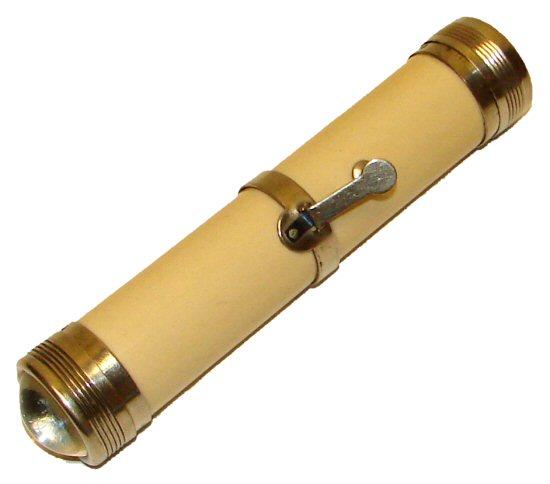 historische Taschenlampe